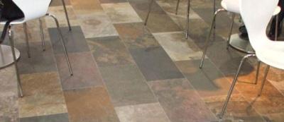 Stone Veneer Flooring.