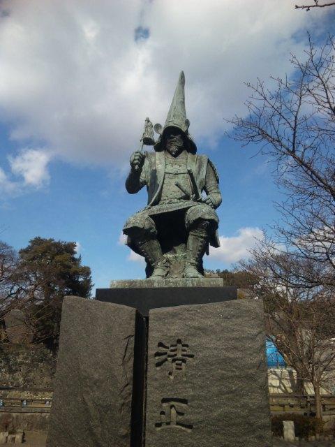 清正公銅像