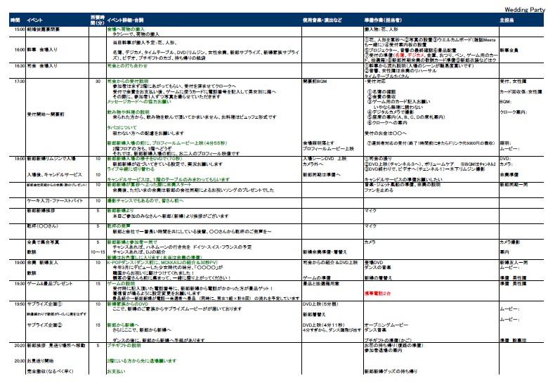 タイムテーブルは、A4用紙1枚 ... : a4 スケジュール テンプレート : すべての講義