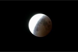 皆既月食、明け2014-10-8