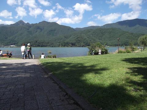 河口湖 小海公園