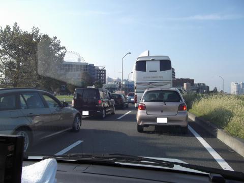 赤レンガ倉庫P渋滞