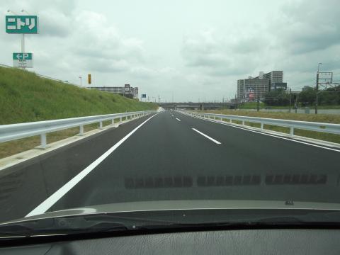 千葉NTの新しい道路