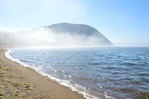 猪苗代湖 上戸浜