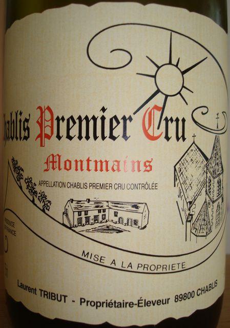 Chablis Premier Cru Montmains Laurent Tribut 2007
