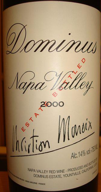 Dominus Napa Valley 2000