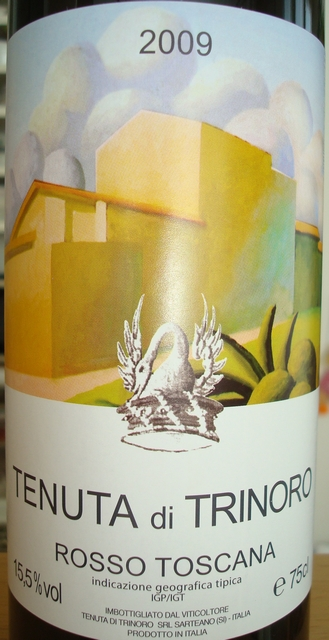 Tenuta di Trinoro Rosso Toscana 2009