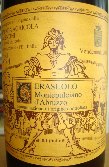 Monepulciano dAbruzzo Cerasuolo Azienda Agricola Valentini 2008