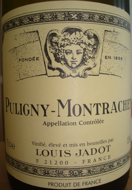 Puligny Montrachet Louis Jadot 1999