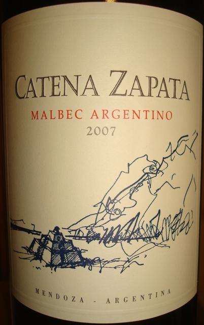 Catena Zapata Malbec Argentino 2007 Part1