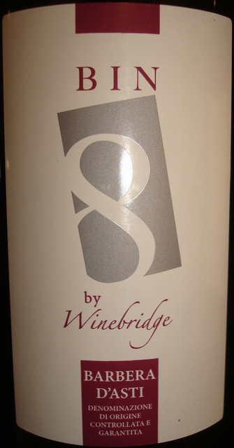 Winebridge Barbera Dasti 2010