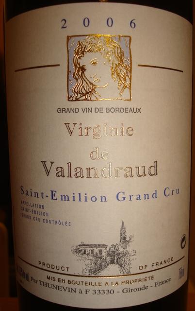 Virginie de Valandraud 2006