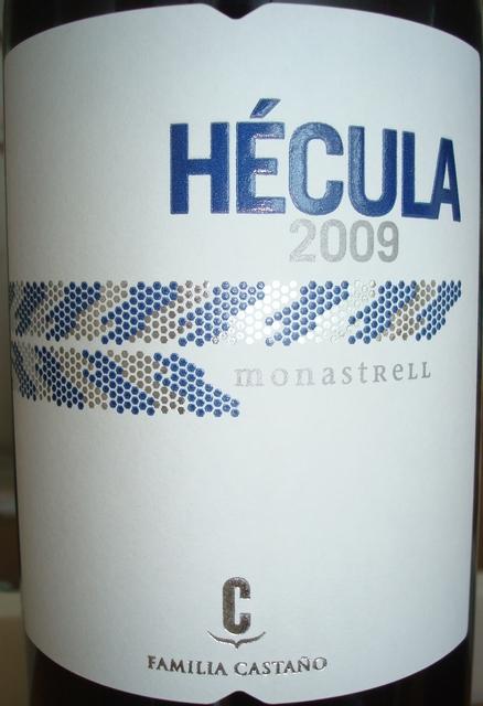 Hecula Monastrell Familia Castano 2009