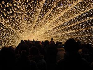 光のトンネル2