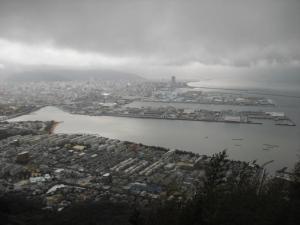屋島山頂からの景色
