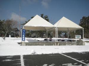 寒霞渓の駐車場