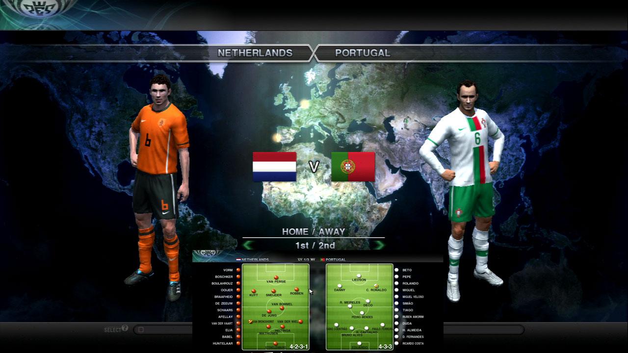オランダVポルトガル