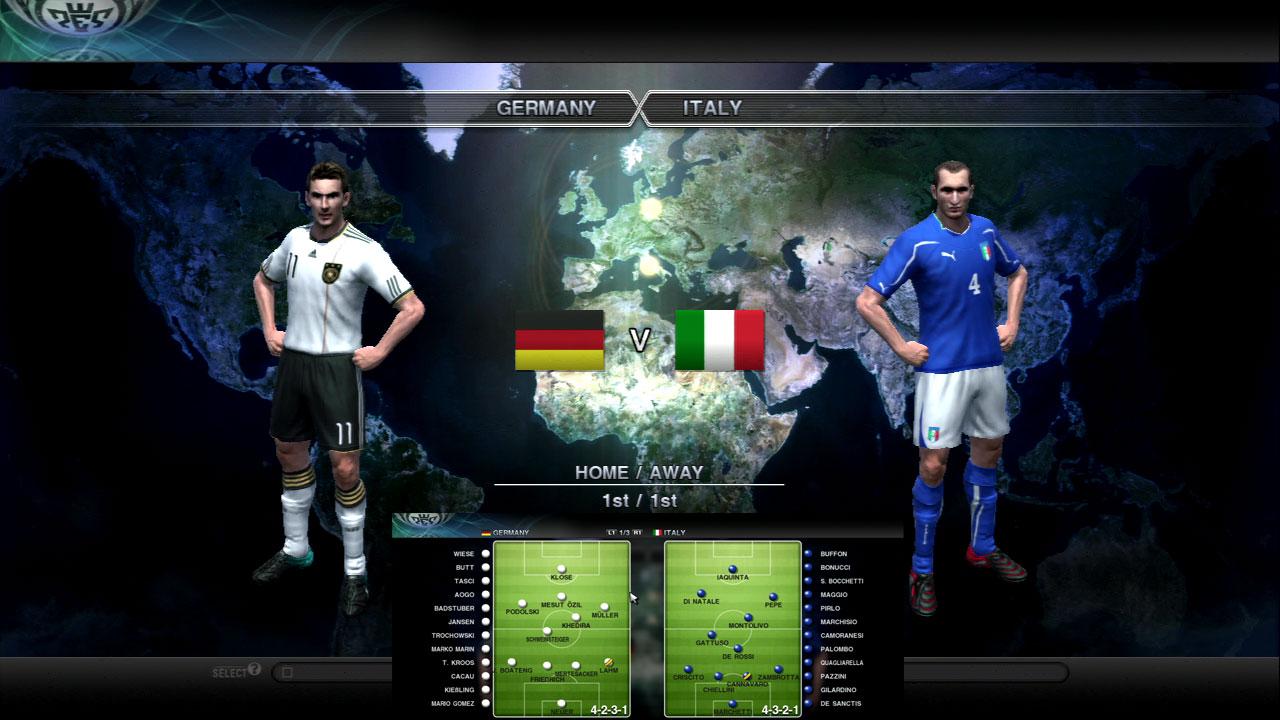 ドイツVイタリア