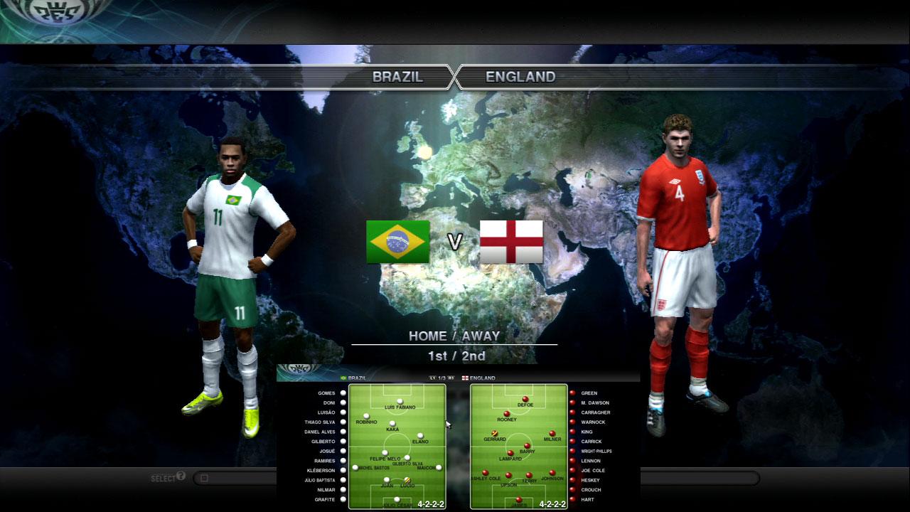 ブラジルVイングランド