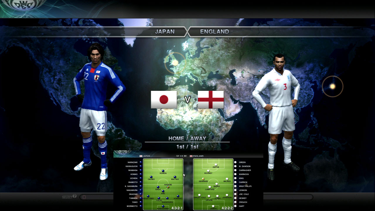 日本Vイングランド