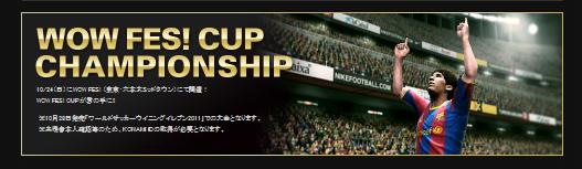 WOW FES WE2011CUP2