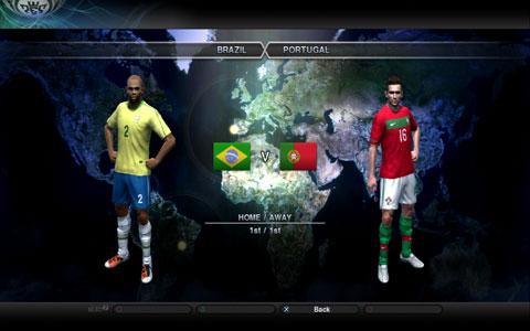 ブラジル全身