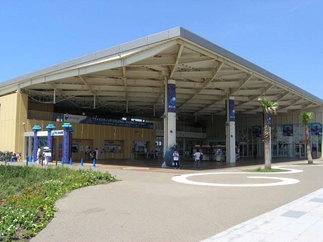 江ノ島水族館正面玄関
