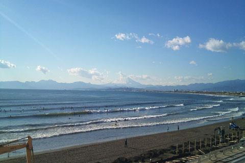江ノ島水族館からの風景1