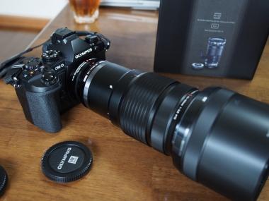 M.ZUIKO DIGITAL ED 40-150mm F2.8 PRO+テレコン