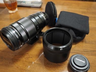 M.ZUIKO DIGITAL ED 40-150mm F2.8 PRO 付属品全部