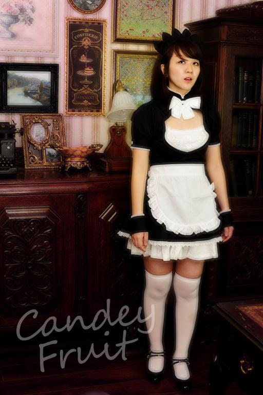 ブラックチェリーメイド服