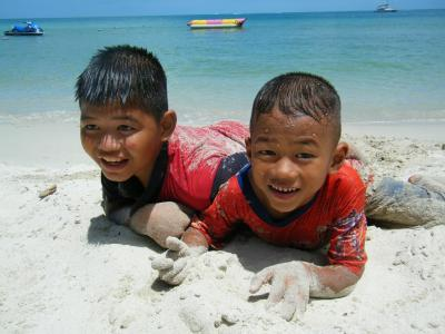 タイ・こども・ビーチ