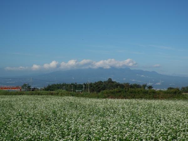 蕎麦と榛名山