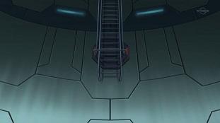 どうみても届かないはしご