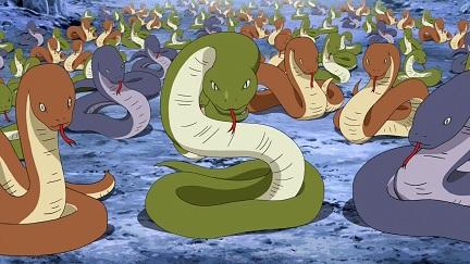 たくさんの蛇