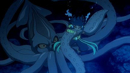 巨大イカと戦う小市民