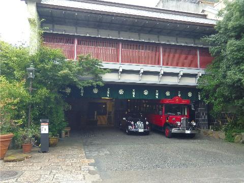 京都や玄関