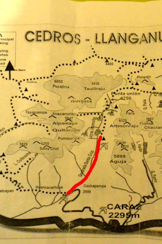 サンタクルス谷地図1