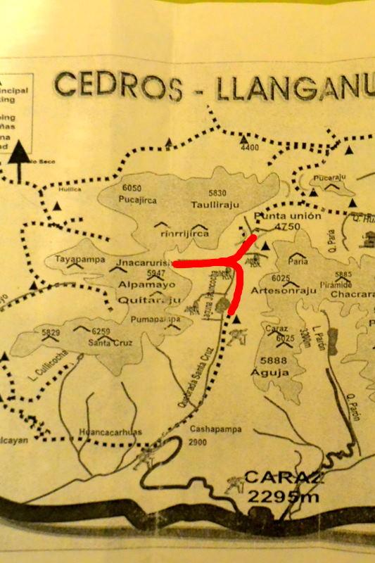 サンタクルス谷地図2