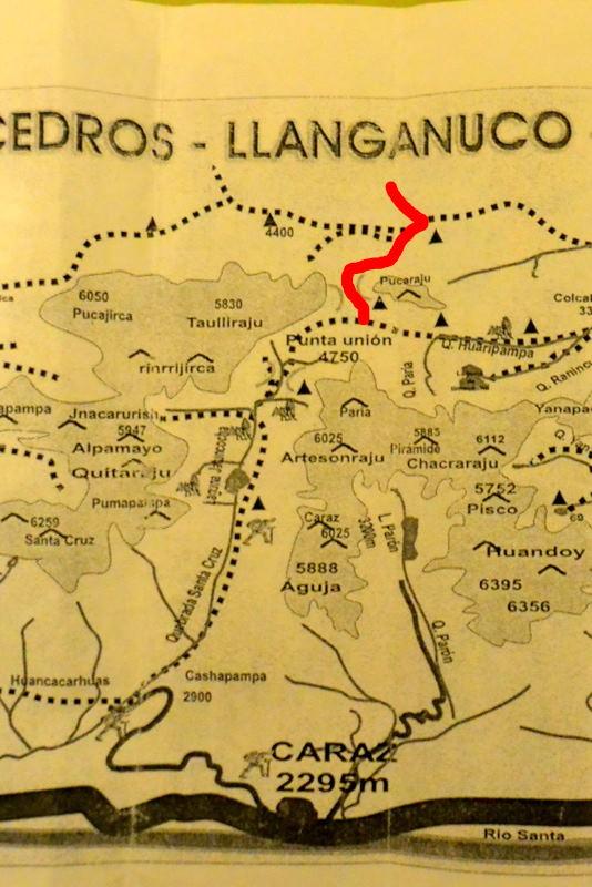 サンタクルス谷地図4