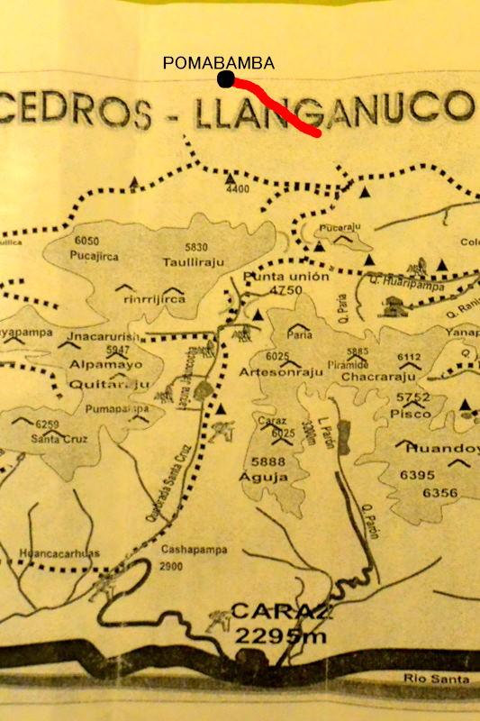 サンタクルス谷地図5