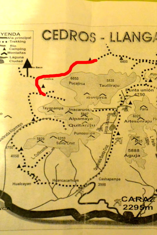 サンタクルス谷地図7