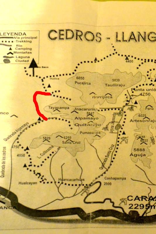 サンタクルス谷地図8