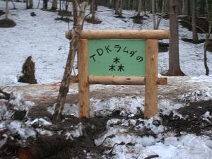 森の看板1