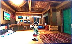 コテージの部屋