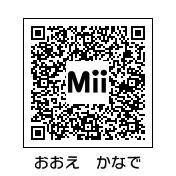かなちゃんのQRコード