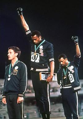 オリンピック憲章違反Carlos-Smith