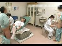 淡々と患者たちにハメられていく看護婦さんのインポ治療風景!