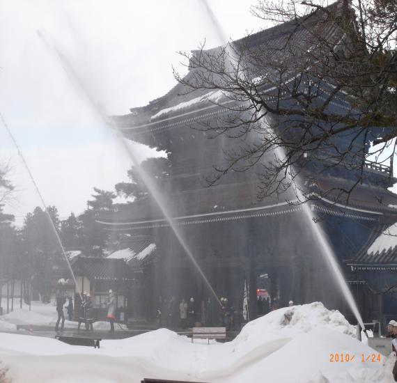 瑞泉寺文化財防火デー