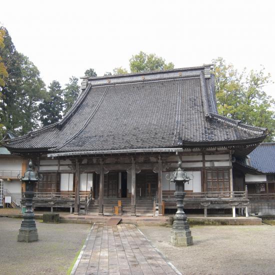 善徳寺本堂